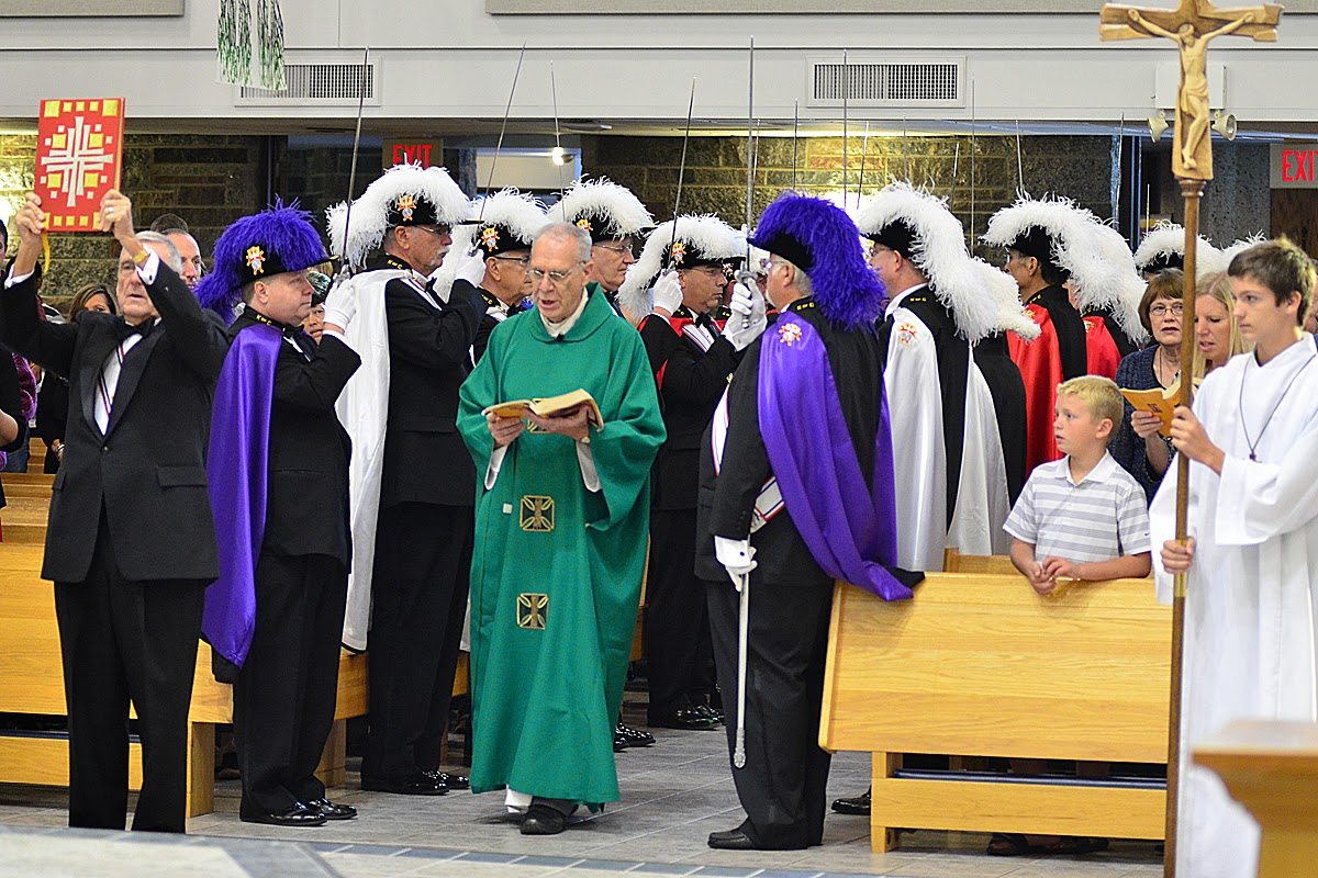 All-Knights Mass celebrated on September 29, 2013