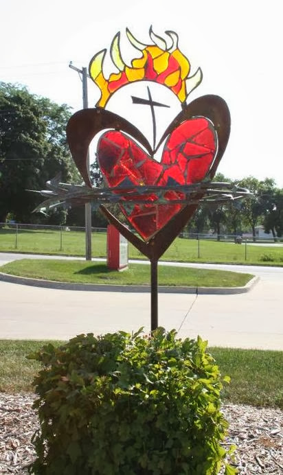 Sacred Heart Sculpture